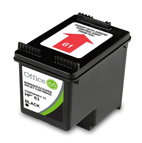 Remanufactured HP 61 CH561WN Black Ink Cartridge